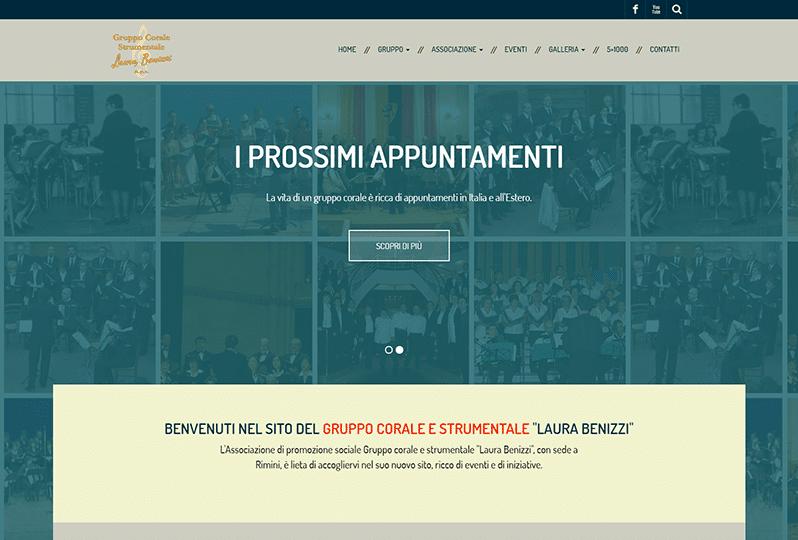 Personalizzazione sito web